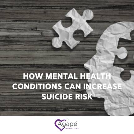 connection between mental health and suicide risk